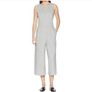Eileen Fisher organic cotton knit jumpsuit